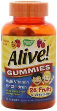 Nature's Way Alive! Children's Multi-Vitamin Gummies, 90 Ct (Pack of 3)