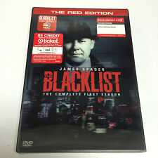 """THE BLACKLIST: The Complete First Season [TARGET-EXCL """"RED EDITION"""" DVDs, 2014]"""