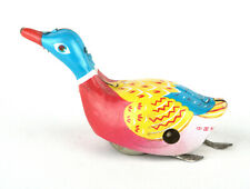 Early Chinese Tinplate Clockwork/Wind-Up Swimming Duck MS 042