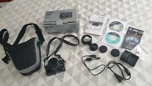 Appareil photo numerique Panasonic Lumix DMC GX1 état neuf + accessoires