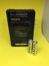 Vintage SONY Walkman radio cassette player WM AF57/BF57 WORKS BUT HAS FAULT