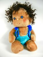 """VINTAGE KENNER HUGGABUNCH 1985 """"Bubbles"""" ~ Plush Doll with Baby Chumley"""