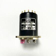 Narda Sem163 Rf Coaxial Switch 28vdc Dc 180 Ghz New