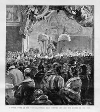 BUFFALO BILL COWBOYS AND INDIANS RED MEN BLESSED BY THE POPE AT THE VATICAN