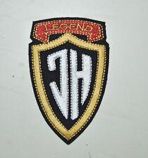 patch johnny halliday 9/6cm