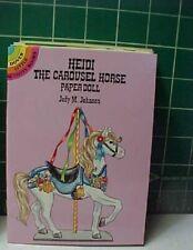 HEIDI THE CAROUSEL HORSE full-color Dover PAPERDOLL