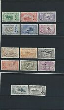 FALKLAND IS 1952 SET OF FOURTEEN FU SG 172/185 CAT £75