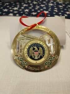 The White House Christmas Ornament 1996