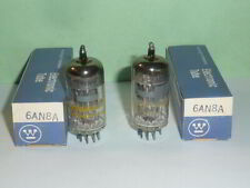 Westinghouse 6AN8A Tubes- Matched Pair, Tested, NOS/NIB, Matched Codes