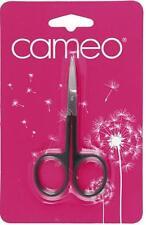 SET OF 2 * CAMEO CUTICLE SCISSORS * QUALITY NAIL SCISSORS * FREE POSTAGE