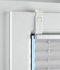 Plissee Zubhör - Klemmträger - Glasleistenmontage ohne Bohren (4 Stück)