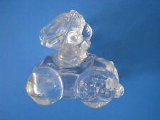 Enesco Wishing You Roads Of Happines Glass Figurine Nice Vintage West Germany