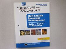 Holt Literature Language Arts Introductory to fourth Guide Newcomers 055401159X