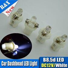 2015 New 4pcs White B8.5D 2721 286 T5 Car Interior lamp bulbs 10lm DC12V Lamps