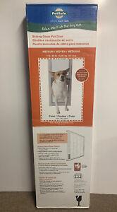 New - Petsafe Sliding Glass Pet Patio Door #PPA11-14767 - Free Shipping