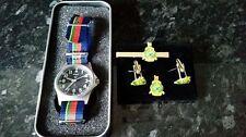 MWC G1098 watch with Royal Marine strap with RM Cufflink set Bundle