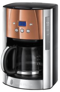 Russell Hobbs Luna Coffee Machine 1000W 1.8L Filter Premium Coffee Maker -Copper