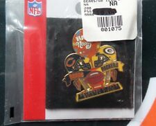 CHICAGO BEARS VS Green Bay Packers Game Day Pin 12/31/2006