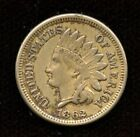 1862 Indian Head Cent Penny, Civil War Issued Collector Coin