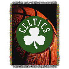 Boston Celtics NBA 48x60 Woven Jacquard Throw