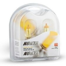 New Nokya H7 Hyper Yellow Headlight Fog Light Halogen Light Bulb Pair NOK7616 S1