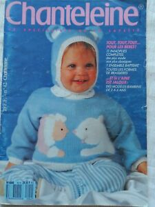 Chanteleine No. 42 Baby  Knitting Pattern Book Free P & P Rare
