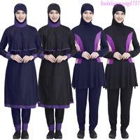 9d37aaab2e8a 2019 Women Burkini Swimwear Muslim Full Cover Swimsuit Modest Beachwear  Islamic