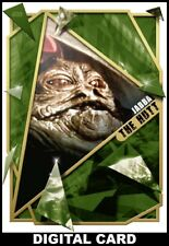 Topps Star Wars Card Trader FRACTURED Empire Strikes Back GOLD Jabba the Hutt