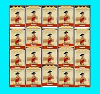20 x Torero Coin Master Cards(fast Delivery)