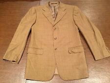 ZEGNA for Neiman-Marcus TROFEO Brown Suit Jacket Sport Coat Blazer Size 42-Long
