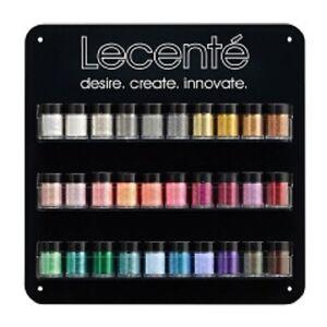 Lecente GLIMENTE Professional Nail Art Rockstar Glitter Sealed Pots or Samples