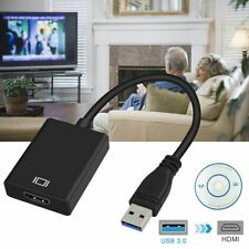 USB 3.0 to HDMI Video Cable Adapter Converter For PC Laptop HDTV LCD TV HD 1080P