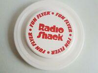Radio Shack Plastic Frisbee Flying Disc Vintage