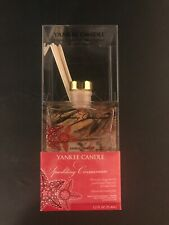 Yankee Candle Sparkling Cinnamon Diffuser Brand New Sealed