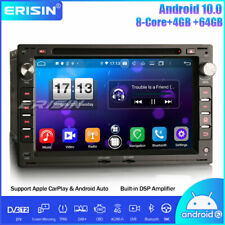 64gb DAB Android 10.0 Car Stereo GPS for VW Golf PASSAT Polo T5 MULTIVAN PEUGEOT
