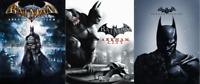 Batman Arkham PS3 Bundle: Arkham Asylum, Arkham City, Arkham Origins