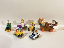 Vintage MCDONALD'S Happy Meal Toys Yogi Bear Ronald McDonald Back To The Future