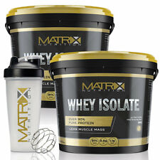 Isolate Optimum Whey Chocolate 1kg High Protein Low Carb by Matrix Nutrition X2