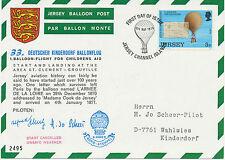 "2467 1973 33th German Balloonpost-Flight ""START CANCELLED - UNSAFE WEATHER"", int"