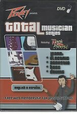 TOTAL MUSICIAN for Guitar Rock House Method Electric Bass Acoustic Drums DVD