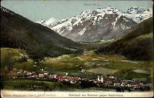 STEINACH Brenner Tirol Österreich Gschnitztal 1933 AK Alpen Berge Panorama