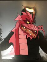 Rare The Real Ghostbusters 1987 Production Animation RED DRAGON GHOST Cel  DIC