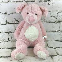 People Pals Pig Plush Pink Sitting Floppy Stuffed Farm Yard Animal Soft Toy