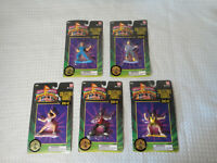 1994 1995 Bandai Power Rangers Collectible Figure Series #2 Lot of 5