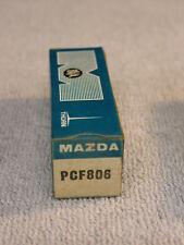 MAZDA PCF806 VALVE / TUBE. NEW OLD STOCK.