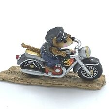 Wee Forest Folk Miniature Sparkey M-314 Motorcycle Bike Flames Special Edition