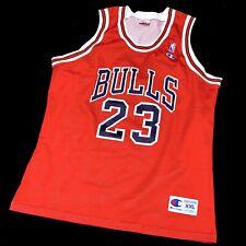 NEU Champion Michael Jordan Chicago Bulls NBA Trikot Air Basketball Jersey 1993