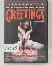 Greetings DVD Movie Kristy Cox