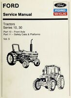 Ford New Holland Ford Tractor Service Manual Series 10, 30 Vol. 5 - Digital Form