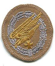 WWII Luftwaffe Fallschirmjager Paratrooper Badge Tropical Afrika Patch Repro